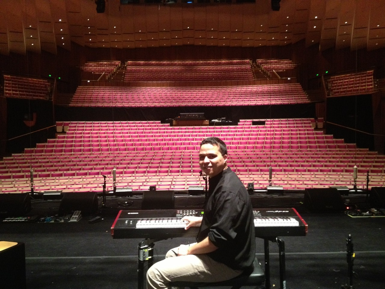 What an amazing venue! — at Sydney Opera House.