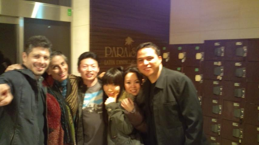 "Some great dancers from the Japanese salsa scene ... who were so hospitable in introducing us to the Tokyo salsa club ""Paradiso"". Tokyo is such a huge place with bars and clubs on multiple floors of each building .. you really need to know where you're g"