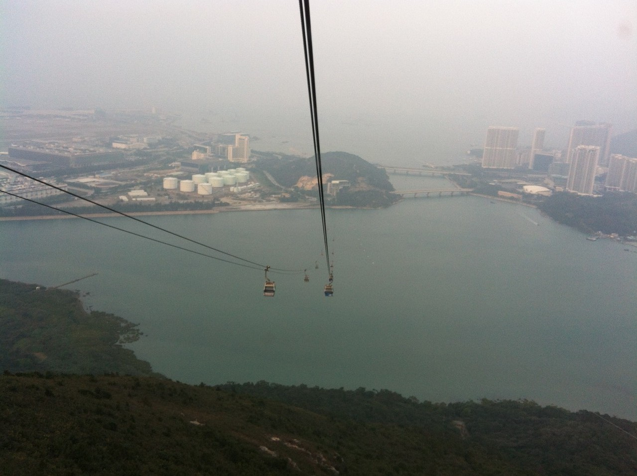 Time to go back ... — at Ngong Ping Cable Car.