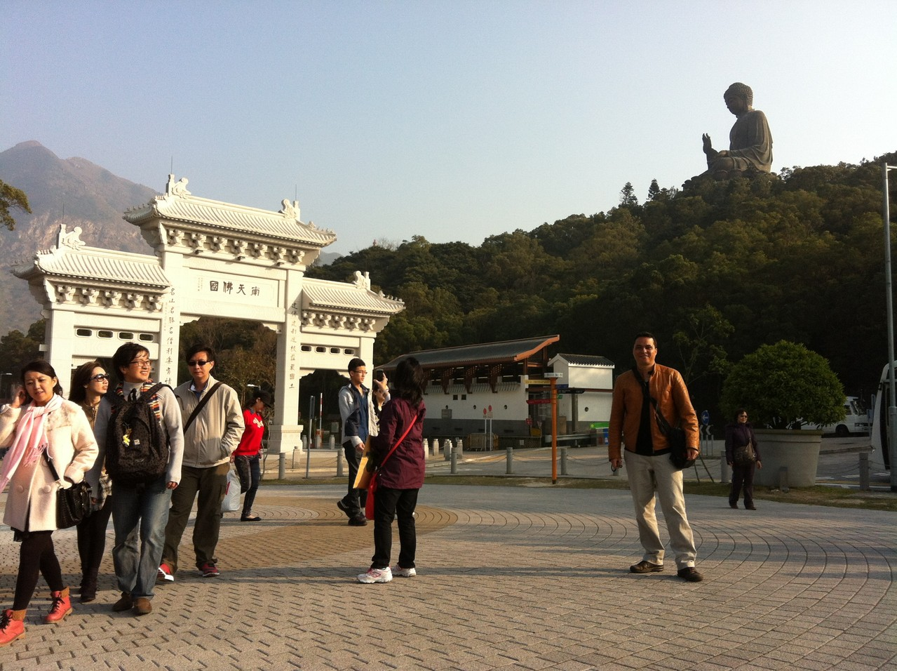 We come closer ... — at Ngong Ping 360.