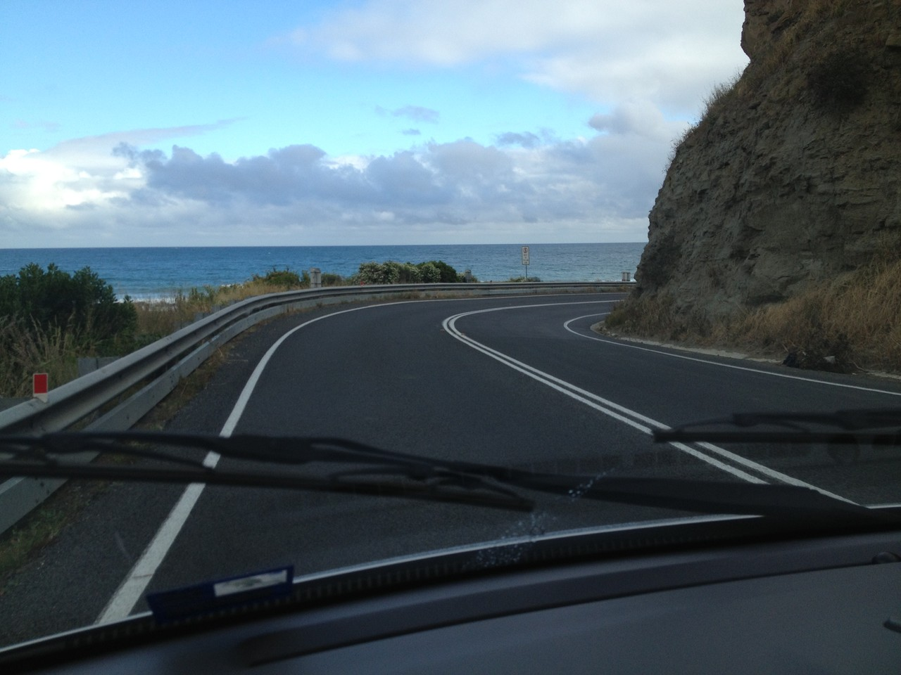 Lovely coast road!