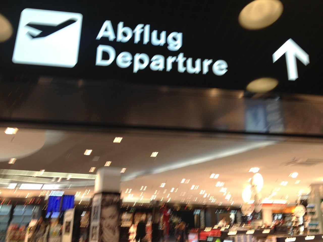 Boxing Day, 26th Dec 2012, I am wrenched from home and loved ones to the airport ... — at Zürich Airport.