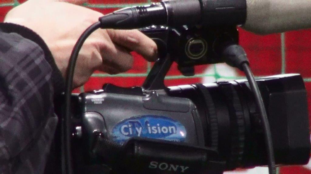 CityVision beim Training der E1 am 13.02.2014