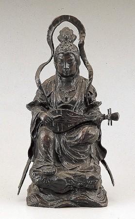35-55 木雕风弁才天(般若纯一郎)