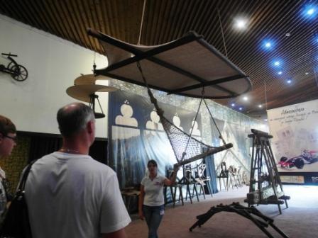 Механический музей леонардо да винчи в сочи