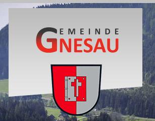 Web der Partnergemeinde Gnesau