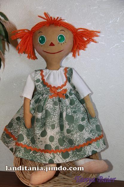 Кукла сшитая реггеди ?лл