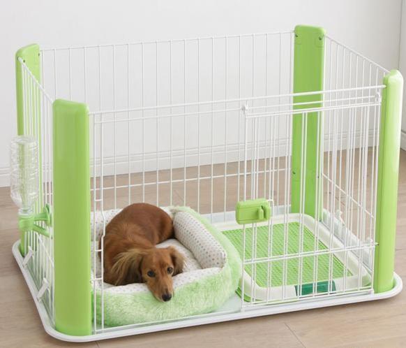 Как сделать вольер для щенка в квартире
