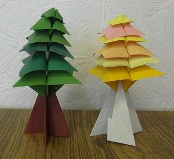 Олимпийское из оригами