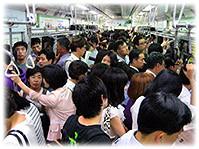 Picture of Seoul subway - Bild von der U-Bahn in Südkorea