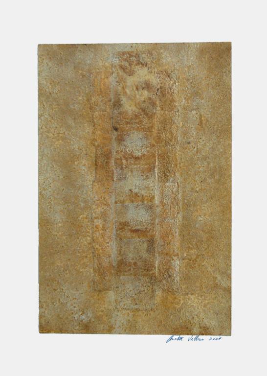 ohne Titel, 2007 Mischtechnik auf Papier, 45 x 32 cm [ID 20070007]