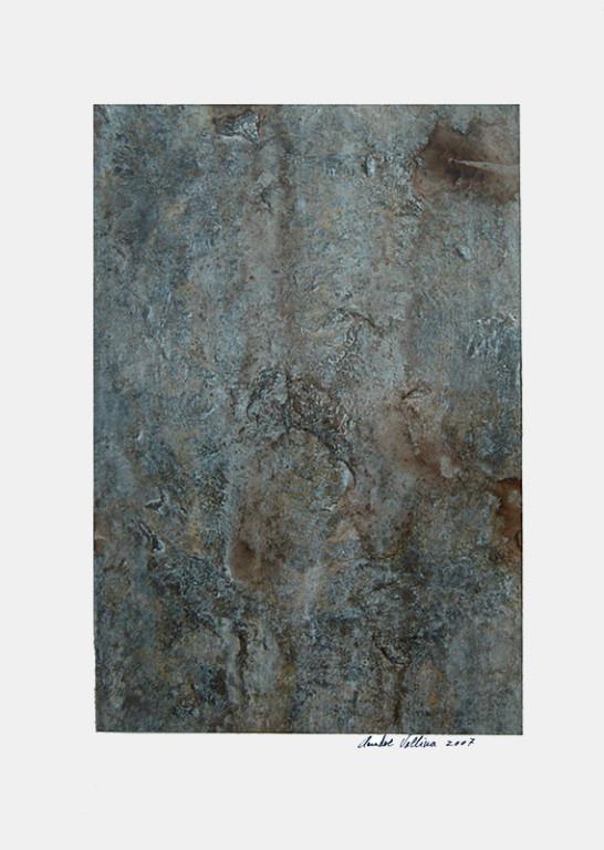 ohne Titel, 2007 Mischtechnik auf Papier, 45 x 32 cm [ID 20070011]