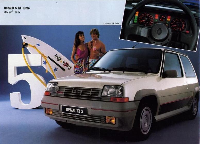 Kit deco pour renault super 5 gt turbo phase 1 for Renault super 5 interieur