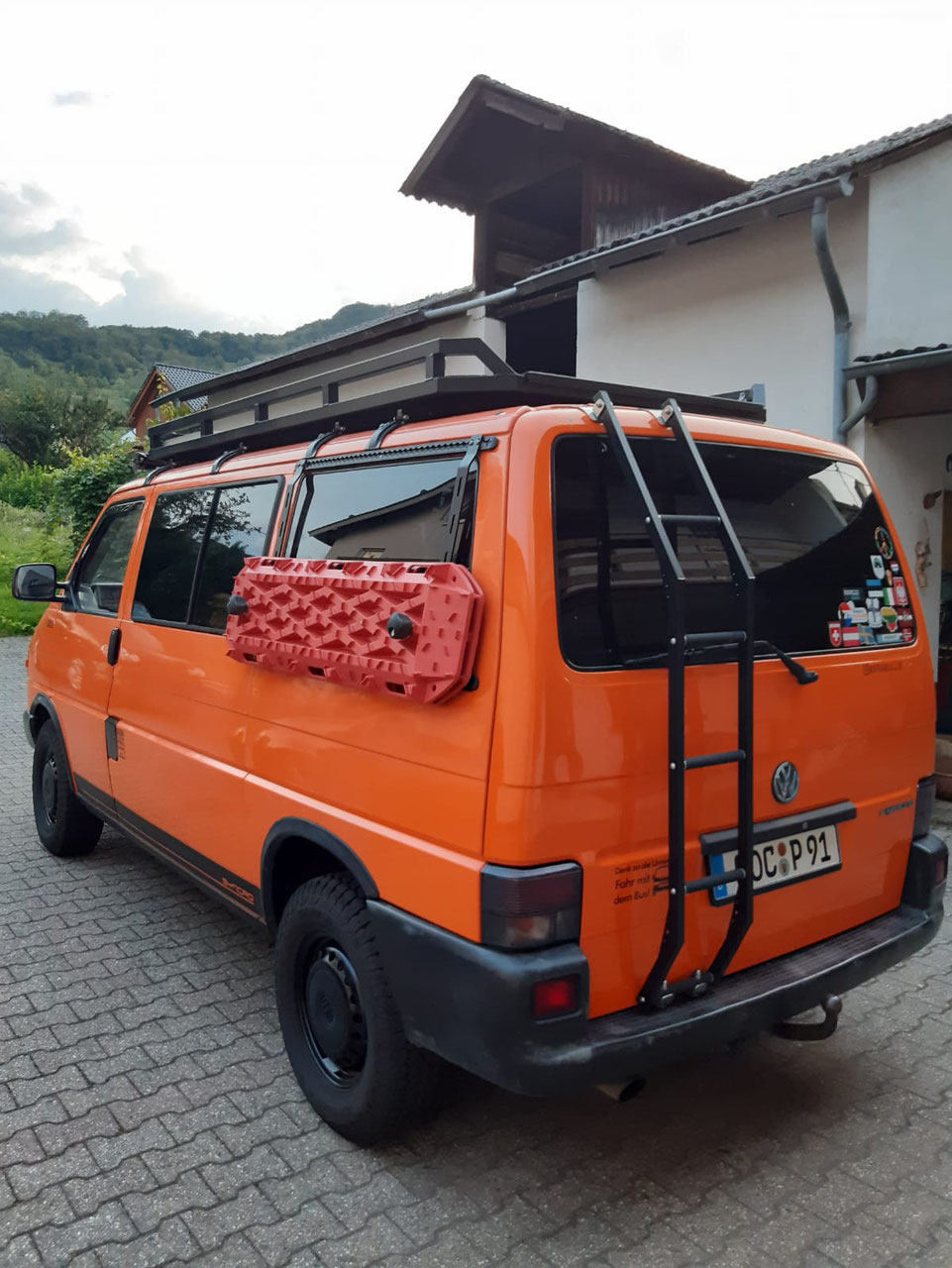 Super VW t4 syncro technical information only (2020) MK-48