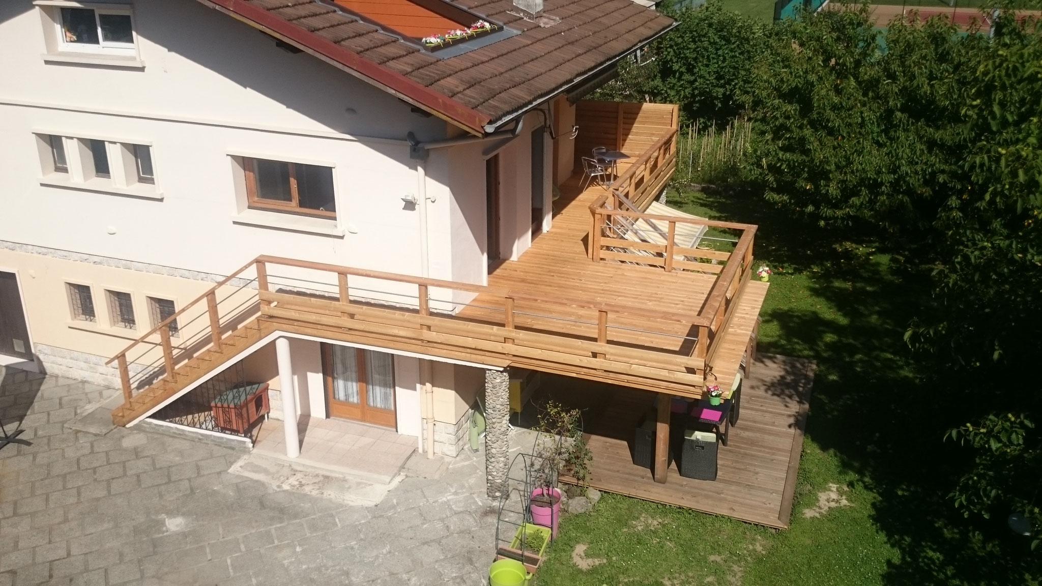 Extension balcon en terrasse oa28 montrealeast - Habillage balcon ...