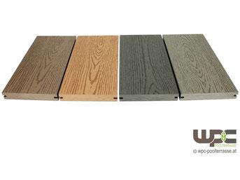 Fantastisch WPC POOLTERRASSE Terrassendielen - SOMMER AKTION ab 39,90 €/m2 BPC  CL55