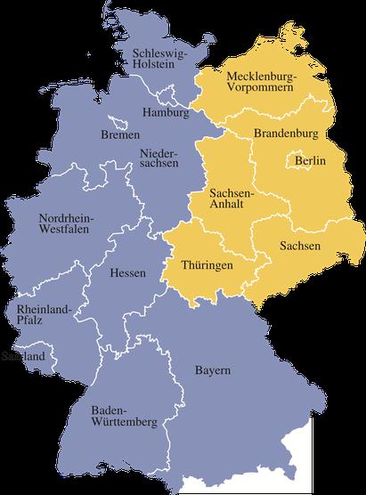 German states Indogermans