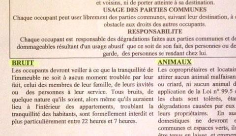 Modele lettre nuisance aboiement chien - Loi sur nuisances sonore par aboiement de chiens ...