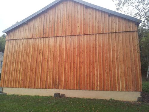 Bien connu bardage bois - Rénovation du bâti ancien percheron, entreprise de  TC16