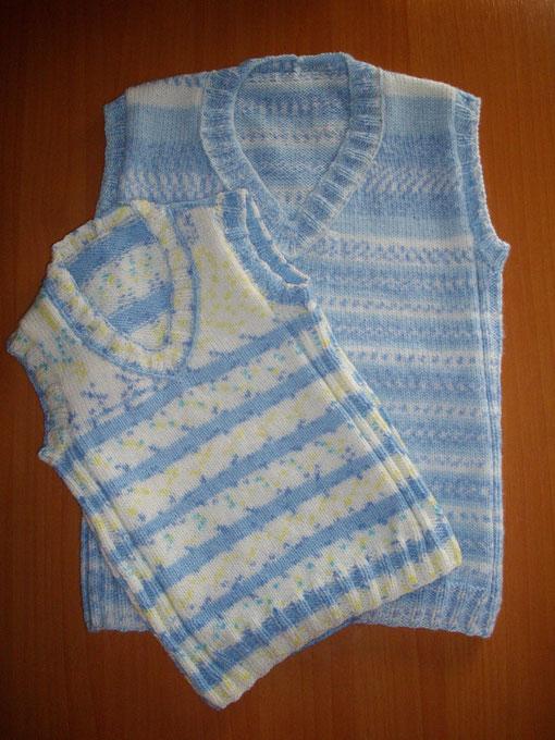 Chalecos sin mangas para niños - Bichitoscrochet
