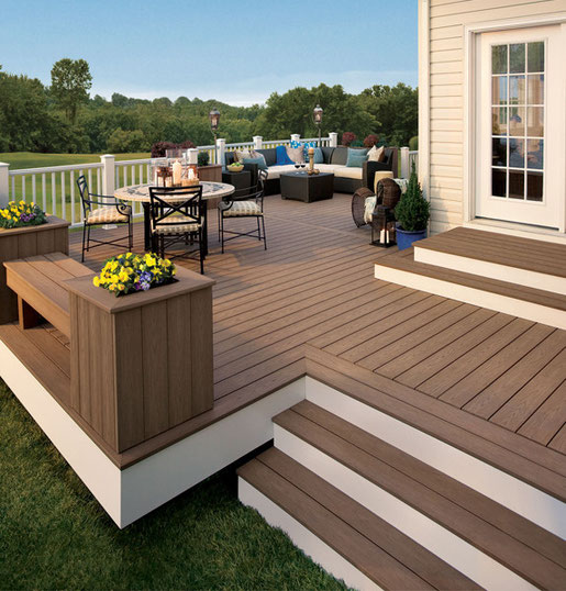 Composite vs Wood Decking Steves Roofing and Remodeling