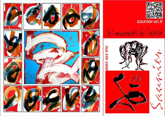 Gut bekannt cartes /poster @ imprimer offert !! - saunier,so,peintures  UE84
