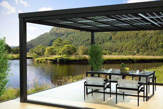 terrassen berdachung freistehend bausatz ca57 hitoiro. Black Bedroom Furniture Sets. Home Design Ideas