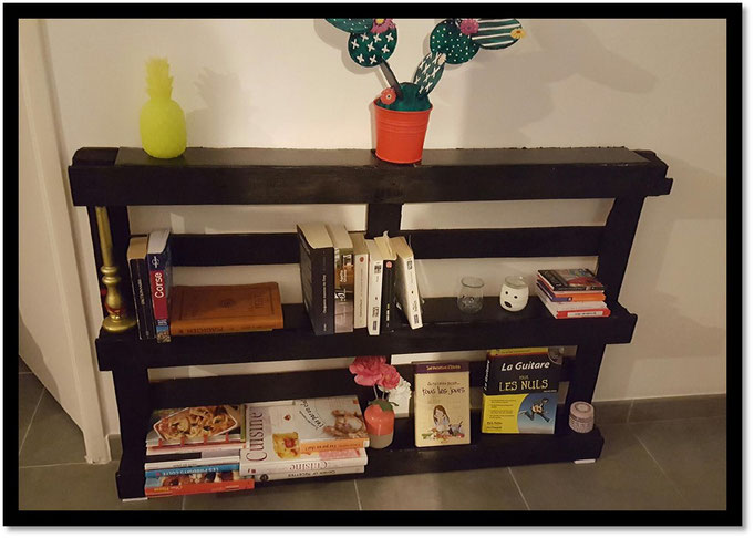 Beliebt DIY BIBLIOTHÈQUE PALETTE - Welk-home LA99