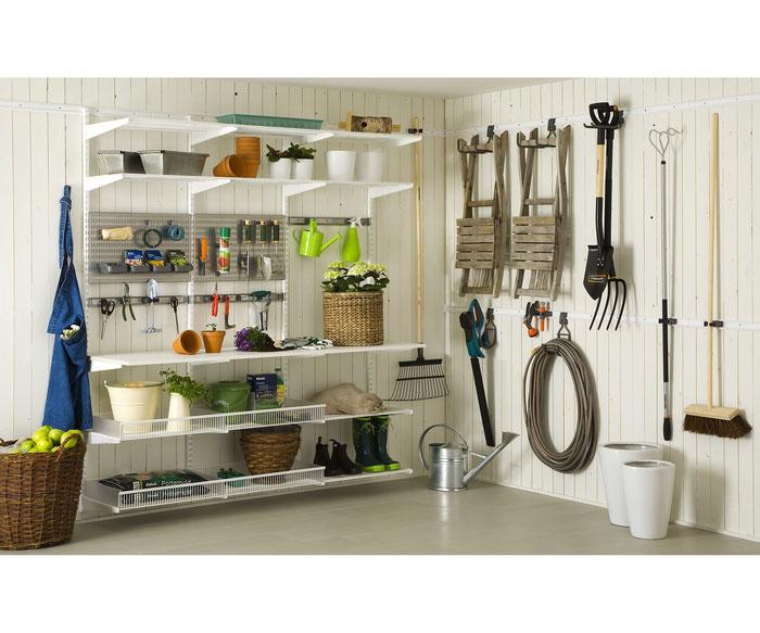 Hauswirtschaftsraum Einrichten garage optimal einrichten lc82 hitoiro