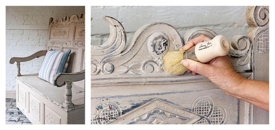 Turbo Kreidefarbe - Tipps Möbel streichen - Annie Sloan Chalk Paint  XY91