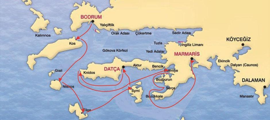 DODECANESE COAST Yacht Charter Holidays Worldwide