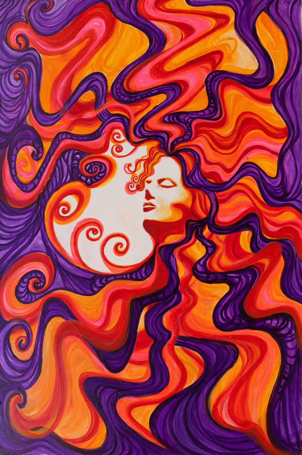 Hervorragend Psychedelic Art - Gallery - Donna McCain CQ11