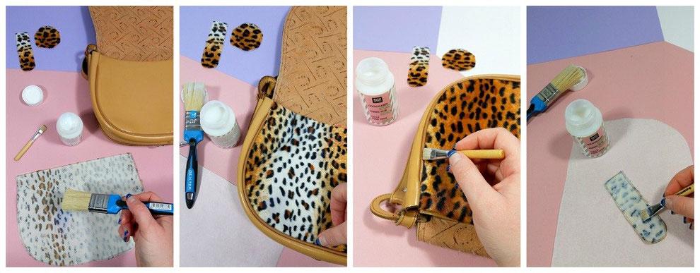 Extrêmement TUTO DIY customisation sac félin - Les Ateliers de Laurène  QL74