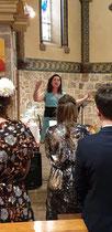Chanteuse lyrique pour animer les messe de mariage en Nouvelle Aquitaine et en Occitanie