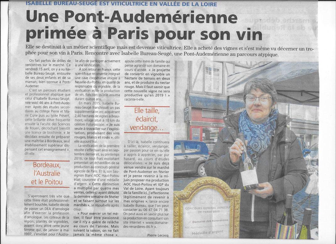 L'éveil de Pont-Audemer met le domaine des Renardières à l'honneur