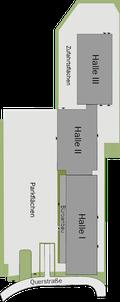 Grundriss Gelände Industriepark Tangermünde