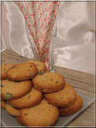 recette de biscuits aux fruits confits