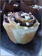 muffins briochés au chocolat amande