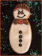 biscuit bonhomme de neige