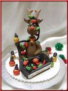 modelage renne pour Noël tutoriel