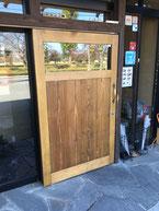 古民家風店舗ドア