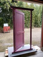 塗装後のどこでもドア