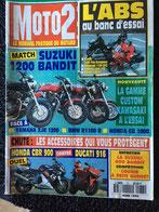 comparatif des systèmes de freinage ABS Honda Pan-européan 1100, Kawasaki 1100 GPZ, BMW R1100 RT, Yamaha GTS 1000