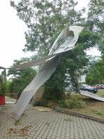 Unwetter richtet schwere Schäden in Bruchhausen an.
