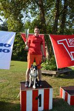 FCI 2 Simona Holzgang mit Jorie, KV Frauenfeld