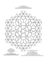 Mandala Millefiore Rosette 12b