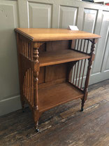 Oak Bible Stand w/Casters $225.00