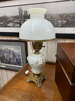 White Lamp with Roses $95.00