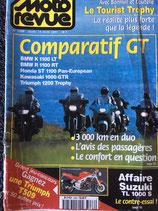 comparatif Pan-européan 1100, BMW R1100 RT, BMW K1100 LT,, Kawasaki 1000 GTR, Triumph 1200 Trophy