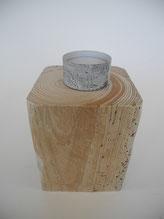--OSLO II-- Teelichthalter aus Treibholz